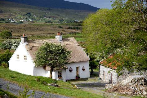 Cottage Ireland Traditional Thatched Cottage Derroura Connemara Co
