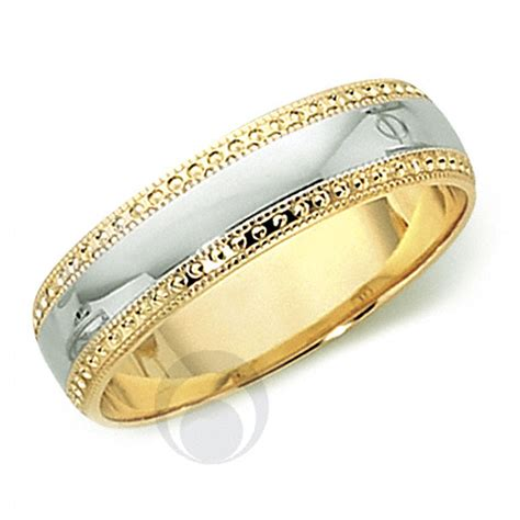 Golden Platinum by 18ct Gold Platinum Wedding Ring Wedding Dress From The