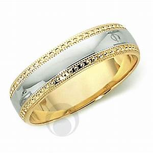18ct gold platinum wedding ring wedding dress from the With platinum engagement ring gold wedding band