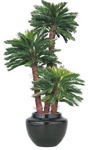 artificial outdoor king sago palm tree artificial flowers plants and trees chicago by home