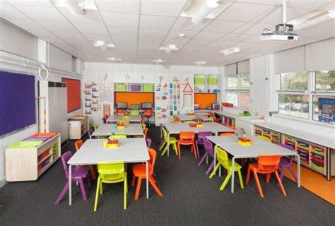 ide desain interior ruang kelas  menciptakan kenyamanan