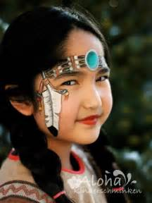 Native American Indian Princess Face Paint