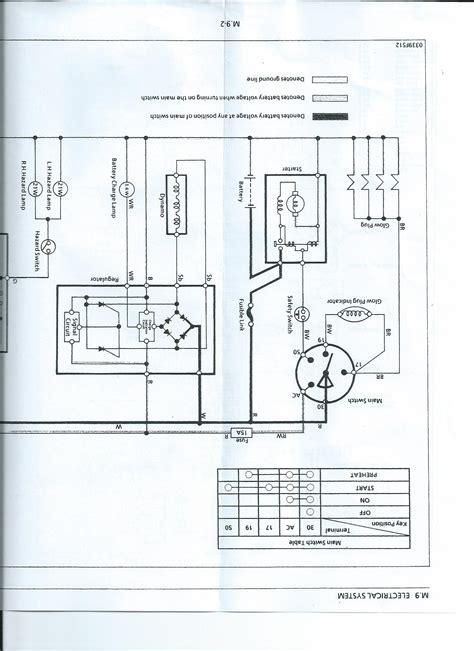 voltage regulator wiring diagram kubota kubota regulator wiring schematic 33 wiring diagram