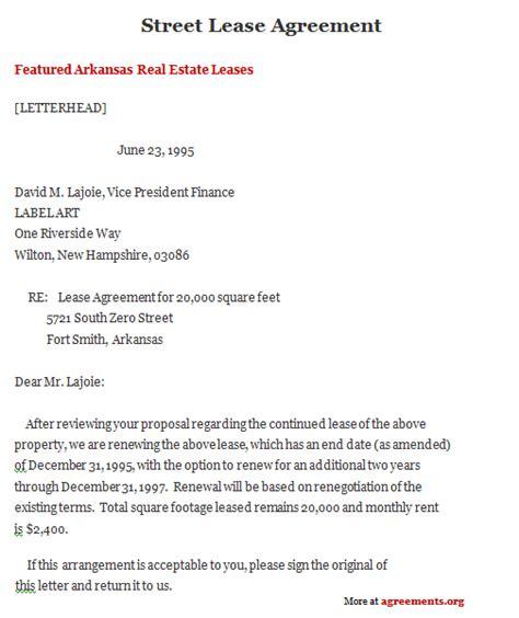 arkansas lease agreement sample arkansas lease agreement