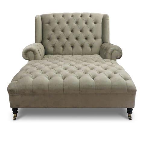 smith chaise tufted velvet hautehousehome