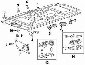 Ford Flex Interior Parts Diagram
