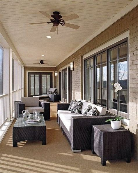 outdoor ceiling fans   stylish veranda  porch
