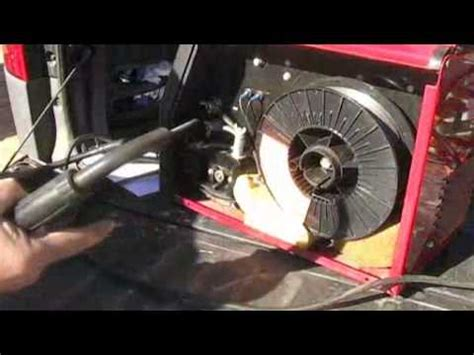 Lincoln Mig Welder Wire Feed Youtube