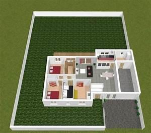 kozikaza plan 3d publication de clemar64 sur kozikaza With amazing logiciel pour maison 3d 2 plans de maison en 3d construire avec maisons den flandre