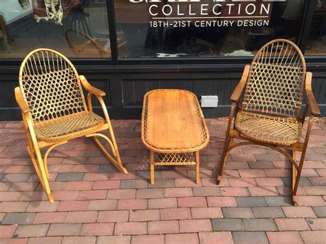 vermont tubbs adirondack chair and rocking chair for sale