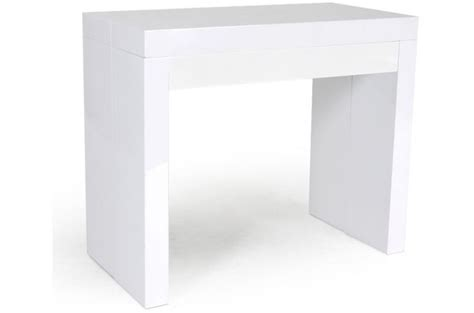 console extensible 3 allonges 1 tiroir 180 cm laqu 233 e