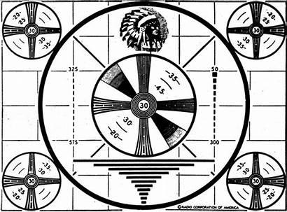 Test Pattern Television Radio Indian Head Station