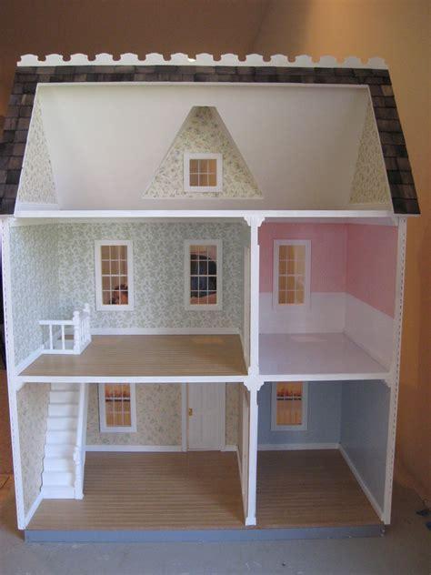 darlings dollhouses building  vermont farmhouse
