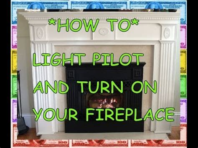 how to light a gas fireplace pilot light how to light a fireplace gas propane