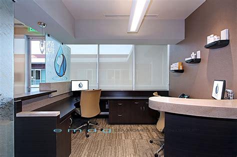 Dental Front Desk Nc by Enviromed Design Dental Office Design