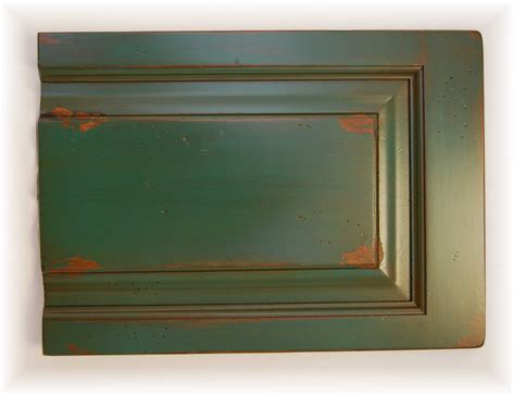 Green Kitchen Cabinet Doors by How To Distress Kitchen Cabinets