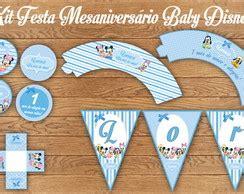 baby disney kit festa mesaniversario bolle it 225 lia elo7