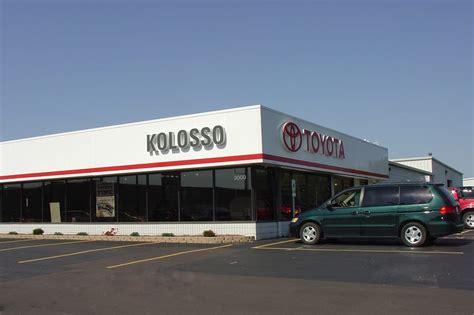 Kolosso Toyota Appleton kolosso toyota in appleton wi across from fleet fram yelp