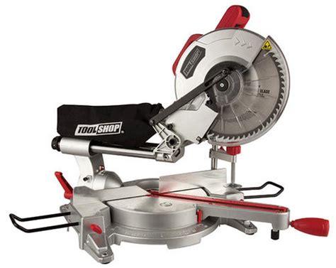 Menards 4 Tile Saw by Tool Shop 174 15 10 Quot Sliding Compound Miter Saw At Menards 174