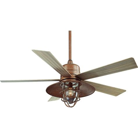 outside patio ceiling fans hton bay metro 54 quot indoor outdoor ceiling fan rustic