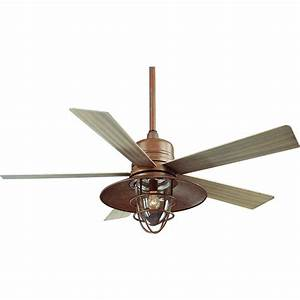 Hampton bay metro quot indoor outdoor ceiling fan rustic
