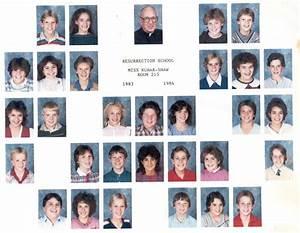 Resurrection Elementary - 7th Grade Class - 1983/84