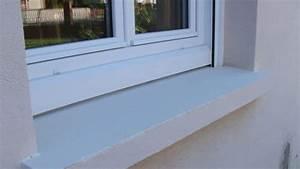 peindre une facade ou un rebord de fenetre bricolage facile With rebord de fenetre exterieur