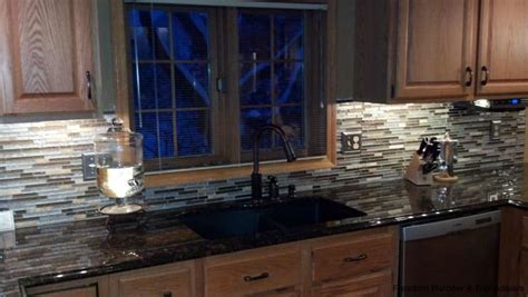 mosaic tiles backsplash kitchen mosaic tile backsplash in kitchen freedom builders
