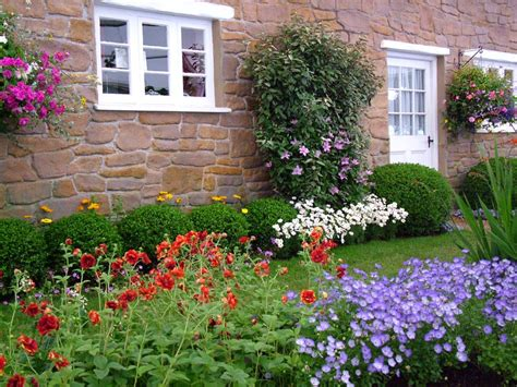 Cliserpudo Beautiful Cottage Flower Garden Images