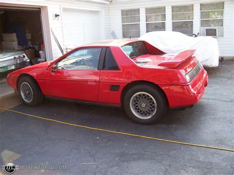Pontiac Fiero Se by Pontiac Fiero Se V6 Photos News Reviews Specs Car