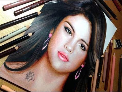 drawing selena gomez youtube