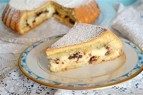 cuisiner ricotta torta con crema di ricotta soffice e golosa gourmandise
