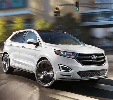 ford crossover black 2018 ford edge suv sporty utility for unstoppable