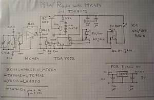 Schematic Circuit Diagram Of Andrei Lazarescu U0026 39 S Mk484 Trf