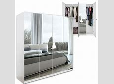 Standing Closets With Mirror Doors Interior Designs