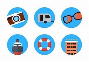 Summer Travel Icon Vectors - Download Free Vector Art ...