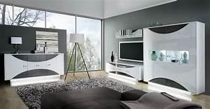 Wohnwand Weiß Mit Eiche : highboard kommode weiss hochglanz eiche grau woody 77 00517 ebay ~ Bigdaddyawards.com Haus und Dekorationen