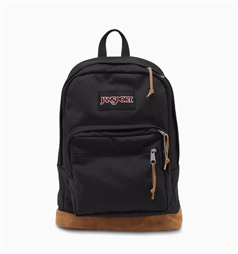 "JanSport Right Pack 15"" Laptop Backpack Black"