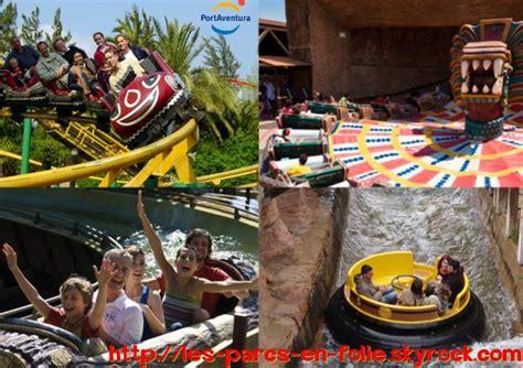 port aventura les autres attractions les parcs en folie