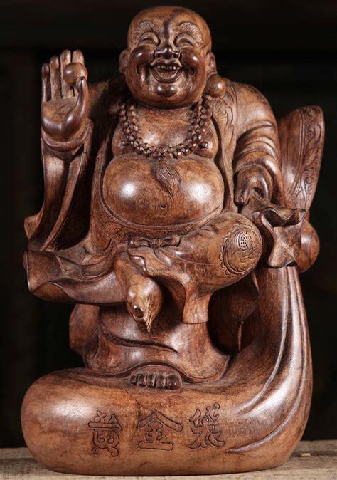 "Gautama buddha, also known as shakyamuni buddha, or simply the buddha, was an indian sage on whose teachings buddhism was founded. SOLD Ebony Wood Dancing Happy Buddha Statue 12"" (#105w4): Hindu Gods & Buddha Statues"