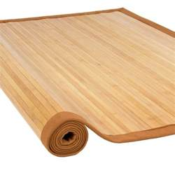 How To Cover Carpet With Wood by Bamboo Area Rug Carpet Indoor Outdoor 5 X 8 100 Natural