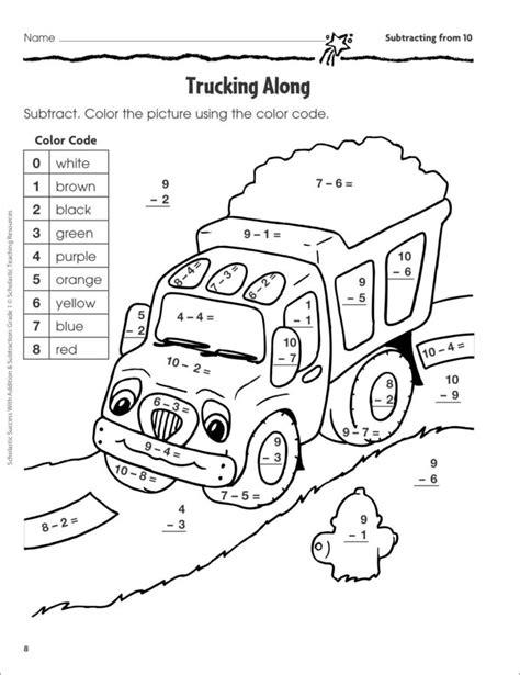 division worksheets barbie dog coloring printable