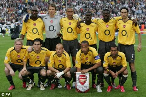 Barcelona - Arsenal, 17 May 2006 - UEFA Şampiyonlar Ligi - Maç raporu   Transfermarkt