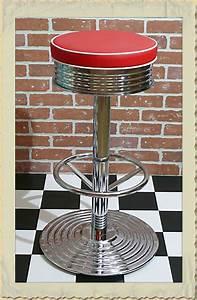 American Diner Einrichtung : american diner barhocker der 40er 50er jahre ~ Sanjose-hotels-ca.com Haus und Dekorationen