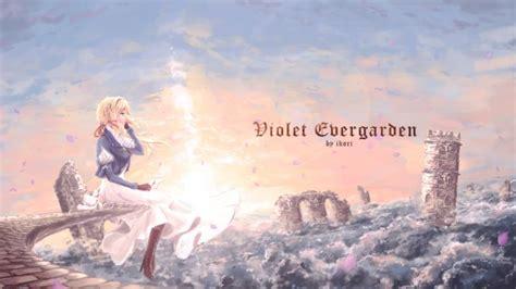wallpaper violet evergarden   blonde profile