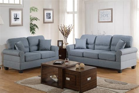 Fabric Sofa And Loveseat Sets by Grey Fabric Sofa And Loveseat Set A Sofa Furniture