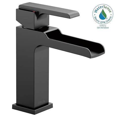 delta ara single hole single handle bathroom faucet
