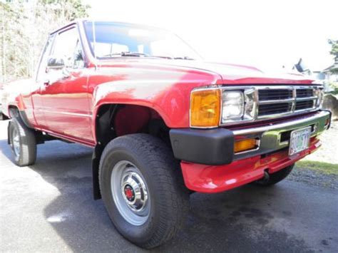 Find Used 1986 Toyota Sr5 4x4 Extended-cab Truck Stock