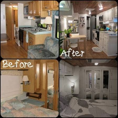 repair kitchen cabinets updating the inside of a 5th wheel i want a project 1863