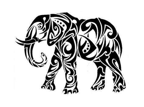elephant tribal tattoo designs  pictures